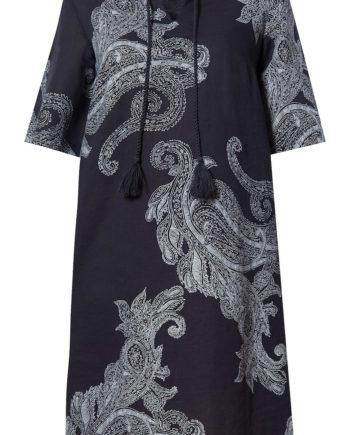 Sommerkleid mit stylishem Paisley-Design Finn Flare cosmic blue