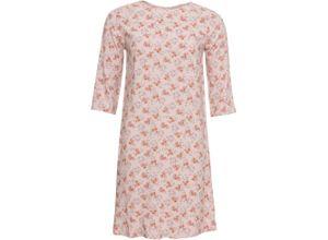 Bedrucktes Kleid/Sommerkleid 3/4 Arm in schwarz von bonprix