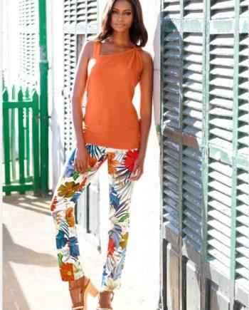 Alba Moda Strandhose mit Druck