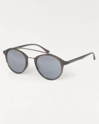 BASEFIELD Retrosonnenbrille (1-St) Damen Sonnenbrille, Circular, Verspiegelte Gläser