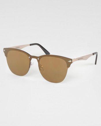 BASEFIELD Retrosonnenbrille (1-St) Damen Sonnenbrille, Clubmaster Style, Verspiegelt