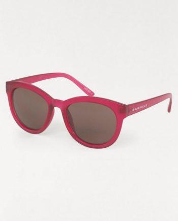 BASEFIELD Retrosonnenbrille (1-St) Damen Sonnenbrille, mit farbigem Rand, Oversize
