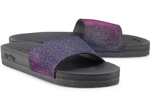 flip*flop, Sandale Pool Shine in grau, Sandalen für Damen Gr. 36