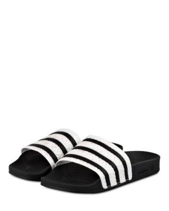 Adidas Originals Badeschuhe Adilette schwarz