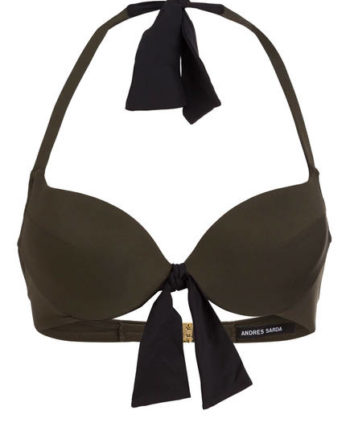 Andres Sarda Push-Up-Bikini-Top Belle gruen