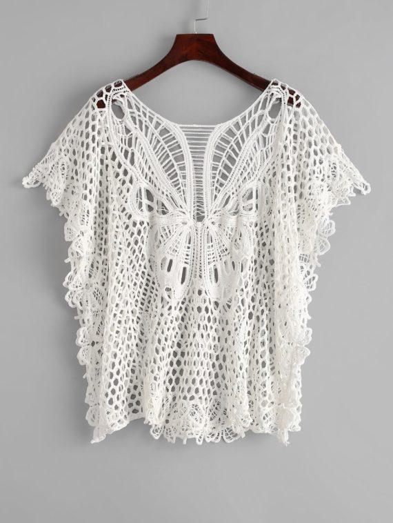 Butterfly Crochet Kaftan
