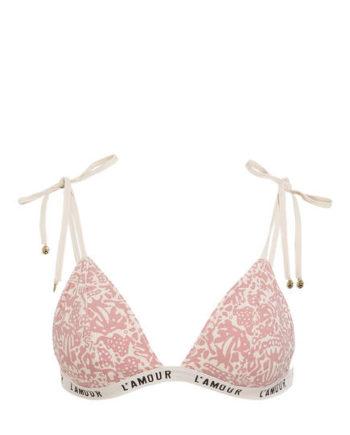 Love Stories Triangel-Bikini-Top Darling rosa