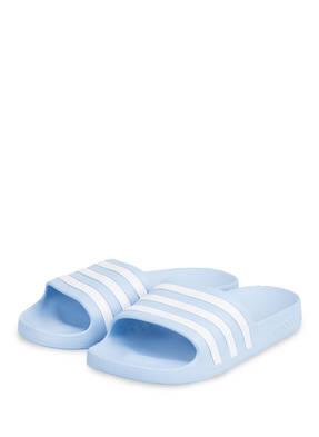 Adidas Badeschuhe Adilette Aqua blau