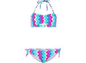 Bandeau Bikini (2-tlg. Set) in blau für Damen von bonprix