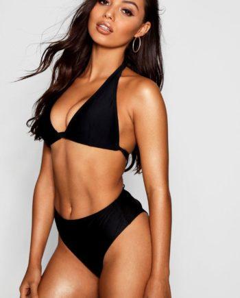 Womens Goa Mix & Match Fuller Bust Triangel-Bikinioberteil - schwarz - 30dd, Schwarz