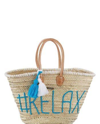 fabrizio® Strandtasche, mit modischer Stickerei