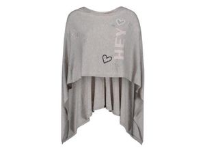 Betty Barclay Strick-Poncho in Taupe Melange