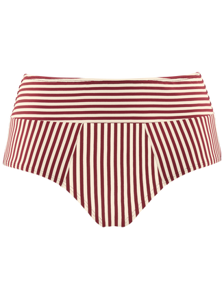 holi vintage highwaist bikini briefs | red-ecru - L