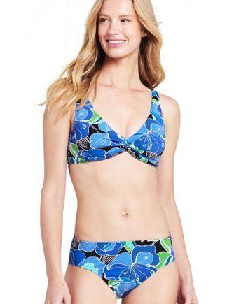 Bikini-Top BEACH LIVING Deko Floral - Normal