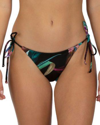 Hurley Rvsb Orchid Snack Bikini Bottom schwarz
