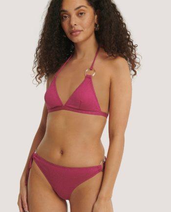 Trendyol Ringdetail Bikini-Höschen - Pink