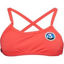 adidas Damen Pro Solid Infinitex+ Bikini Oberteil Korallenrot