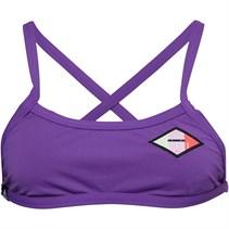 adidas Damen Pro Solid Infinitex+ Bikini Oberteil Lila