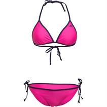 adidas Damen Solid Beach Infinitex Bikini Rosa