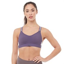 adidas Damen Stronger For It Infinitex Swim Bikini Oberteil Violett