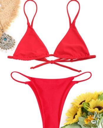 Bralette - Tanga-Bikini Set