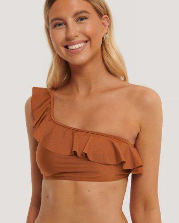 NA-KD Swimwear Bikini-Oberteil - Copper