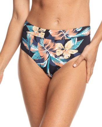 Roxy PT Beach Classics Full Mid Bikini Bottom grau