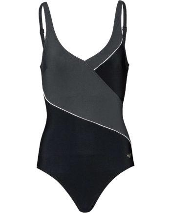 ARENA Badeanzug Topaz Squared Badeanzüge schwarz Damen Gr. 44A