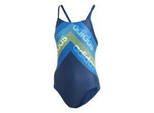 Adidas Athletic Light Graphic Badeanzug Bekleidung Damen blau