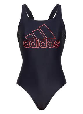 Adidas Badeanzug Athly V Logo blau