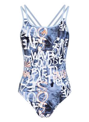 Adidas Badeanzug Parley Fitness blau