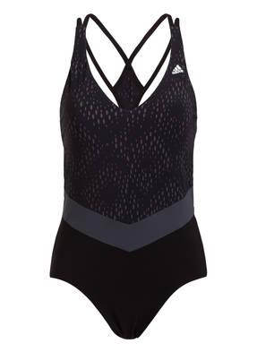 Adidas Badeanzug Primeblue schwarz