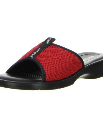 Aerosoft Damen Badeschuhe Pantoletten rot Badeschuhe rot Damen Gr. 38