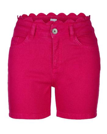 Alba Moda Strandhose Reißverschluss Webware Sommerkleider pink Damen Gr. 44