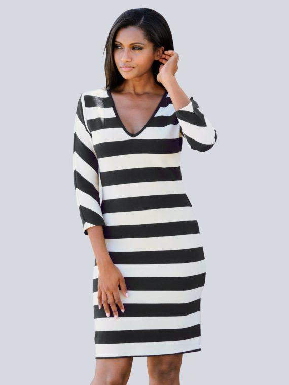 Alba Moda Strandkleid aus Rippware