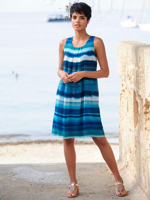 Alba Moda Strandkleid im Farbverlauf
