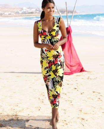 Alba Moda Strandkleid mit Wickeloptik