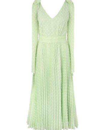 Apart Sommerkleid mit abnehmbaren Schleifen und langen Bändern