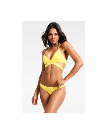 BENCH . Triangel-Bikini Bikinis gelb Damen Gr. 38A/B