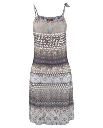 BUFFALO Strandkleid Sommerkleider beige Damen Gr. 42
