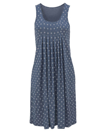 Beachtime Strandkleid Jerseykleider blau Damen Gr. 38