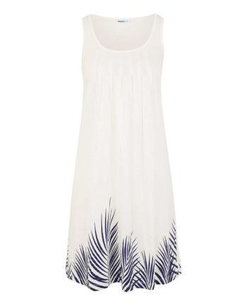 Beachtime Strandkleid Sommerkleider weiß Damen Gr. 52