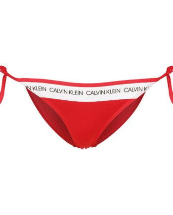 CALVIN KLEIN UNDERWEAR Bikini Unterteil String Side Tie W Bikini-Hosen rot Damen Gr. 32A/B