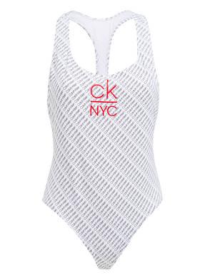 Calvin Klein Badeanzug Ck Nyc schwarz