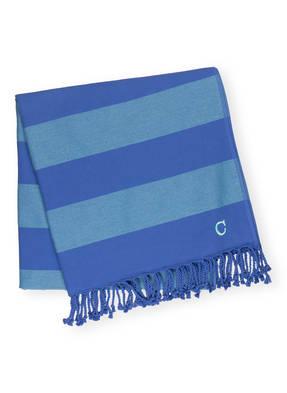 Cawö Strandtuch Saphir blau