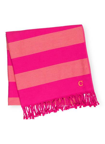 Cawö Strandtuch Saphir pink