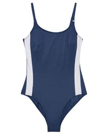 ESPRIT Badeanzug Swimsuits Badeanzüge dunkelblau Damen Gr. 42C