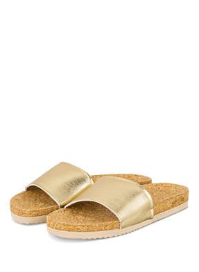 Flip*Flop Pantoletten Pool Corgi gold