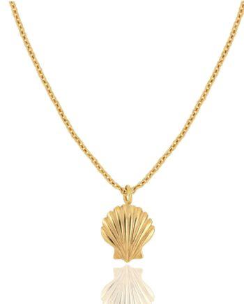 JULES & GENTS Kette mit Anhänger seashell Gold