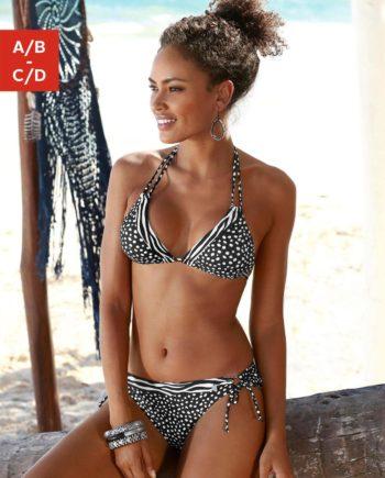 LASCANA Triangel-Bikini-Top Safari